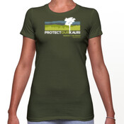 Womens front & back rahui t-shirt
